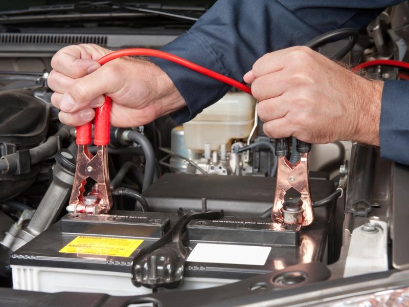 carga de bateria de auto
